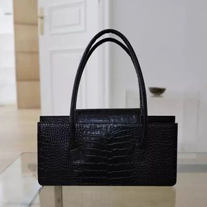 Crocodile effect bag